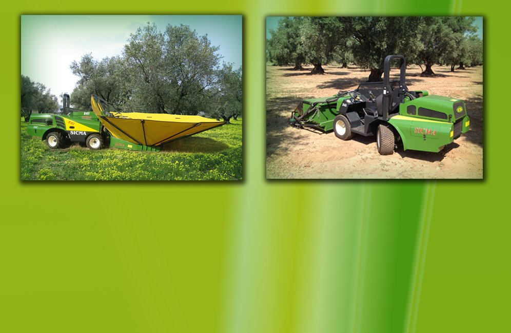Self-Propelled Vibrator for Olives - Peanuts