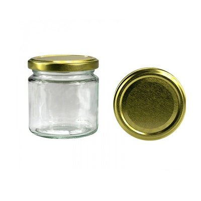 Glass Jar For Honey 0.100Kg