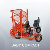 Transplanter Baby Compact for narrow spaces