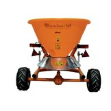 Salt/sand spreader with disk distributor and tarpaulin CL series – Gamberini