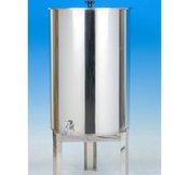 Stainless Lidded Barrel - 100Lt
