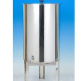 Stainless Lidded Barrel - 200Lt
