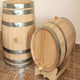 Wooden Barrel - 50 L